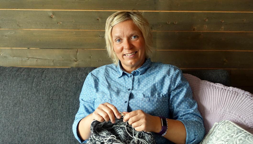 MÉNIÈRES SYKDOM: Anne Rigmor Solli (47) fikk diagnosen Ménières sykdom i 1999. FOTO: Merete Sillesen