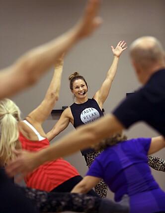 PERSONLIG TRENER: Malin er personlig trener og instruktør blant annet i aerobics. Foto: Stefan Nilsson