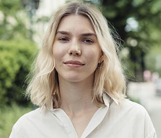 POSITIV: Blogger og tekstforfatter Maja Hattvang synes også at hjemmelagde masker faktisk kan fungere. Foto: Anne Valeur