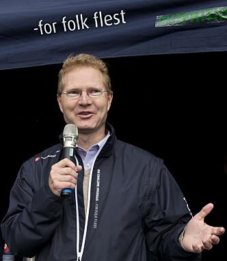 <strong>FÅR KRITIKK:</strong> Frp's Tor André Johnsen, akkurat innvalgt til sin andre periode på Stortinget. Foto: Mimsy Møller / Samfoto