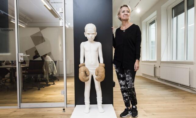 TATT TID: Hilde Barstad, direktør for Kulturetaten i Oslo kommune, sier de håper å være ferdig med registreringen av kunsten i 2018. FOTO: Lars Eivind Bones / Dagbladet