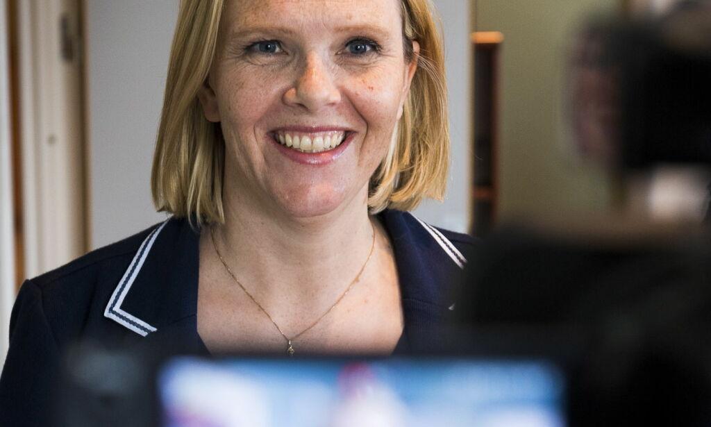 image: Sylvi Listhaug ble betalt for å påvirke Fremskrittspartiet