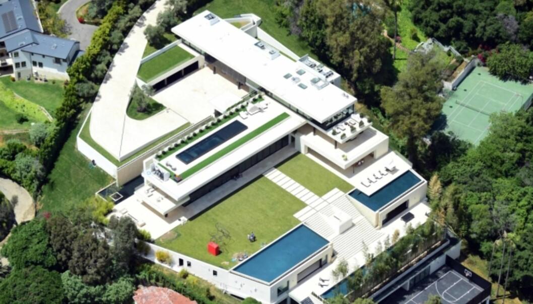 NYTT HJEM: Dette huset har Beyoncé og Jay Z nylig kjøpt. Foto: NTB Scanpix
