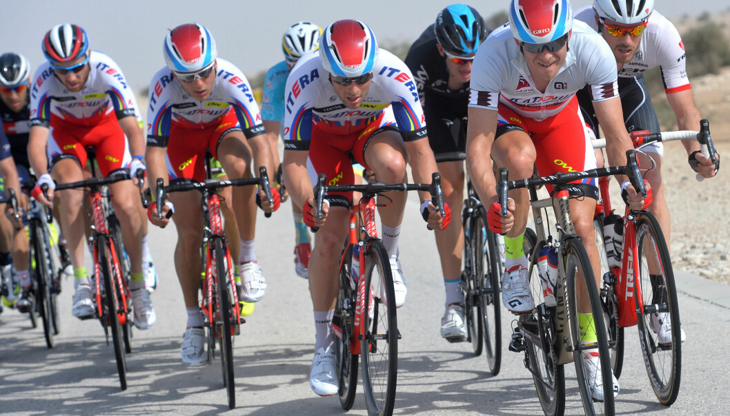 <strong>ØVELSE GJØR MESTER:</strong> I starten gikk det for kjapt for Alexander Kristoff, men etter hvert skulle Tour of Qatar bli hans lekegrind. FOTO: Tim De Waele/TDWSPORT.COM