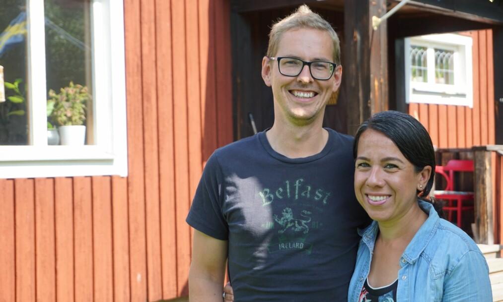 <strong>EKSTREMT TIDLIG PENSJON:</strong> Ved å spare mye penger på kort tid, kunne Oskar og Maribel slutte å jobbe for godt. Foto: Privat