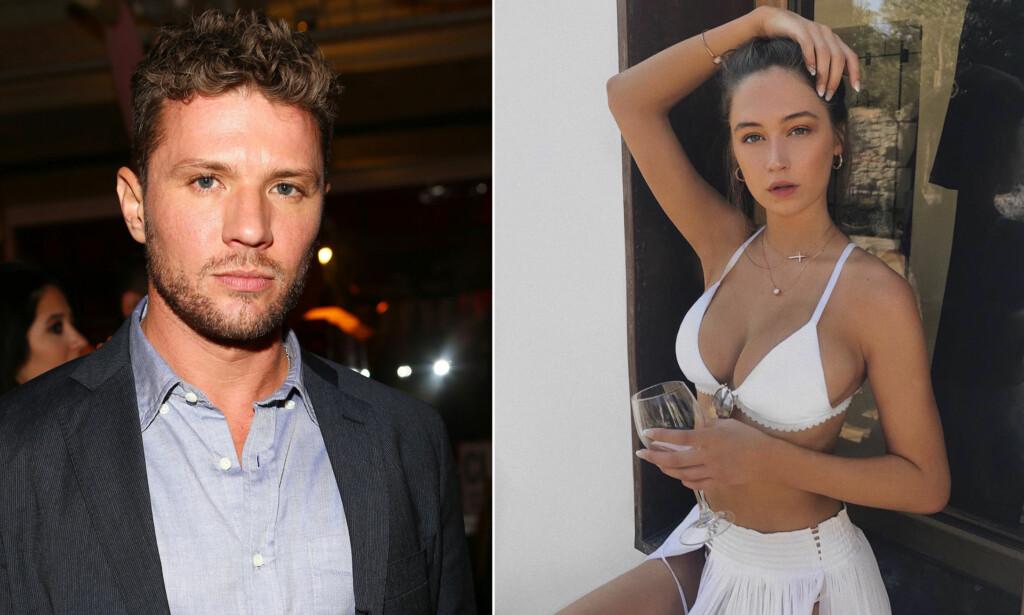 KNALLHARDE ANKLAGER: Filmstjernen Ryan Phillippe blir anklaget av ekskjæresten, modell Elsie Hewitt, for vold og misbruk av diverse rusmidler. Foto: NTB scanpix/ Instagram