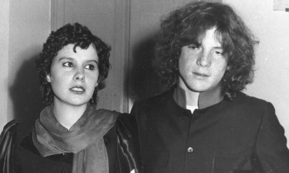 ETTER FRIGIVELSEN: J. Paul Getty III, som i 1973 ble kidnappet og holdt fanget i fem måneder, giftet seg året etter med Gisela Martine Zacher. Hårmanken skjuler arret der det ene øret ble kuttet av. Foto: NTB scanpix