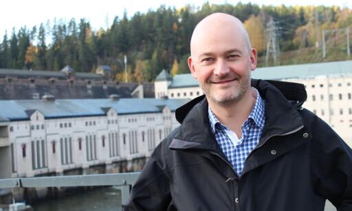 Aslak Øverås, informasjonssjef i Energi Norge. Foto: Christel Nordhagen.