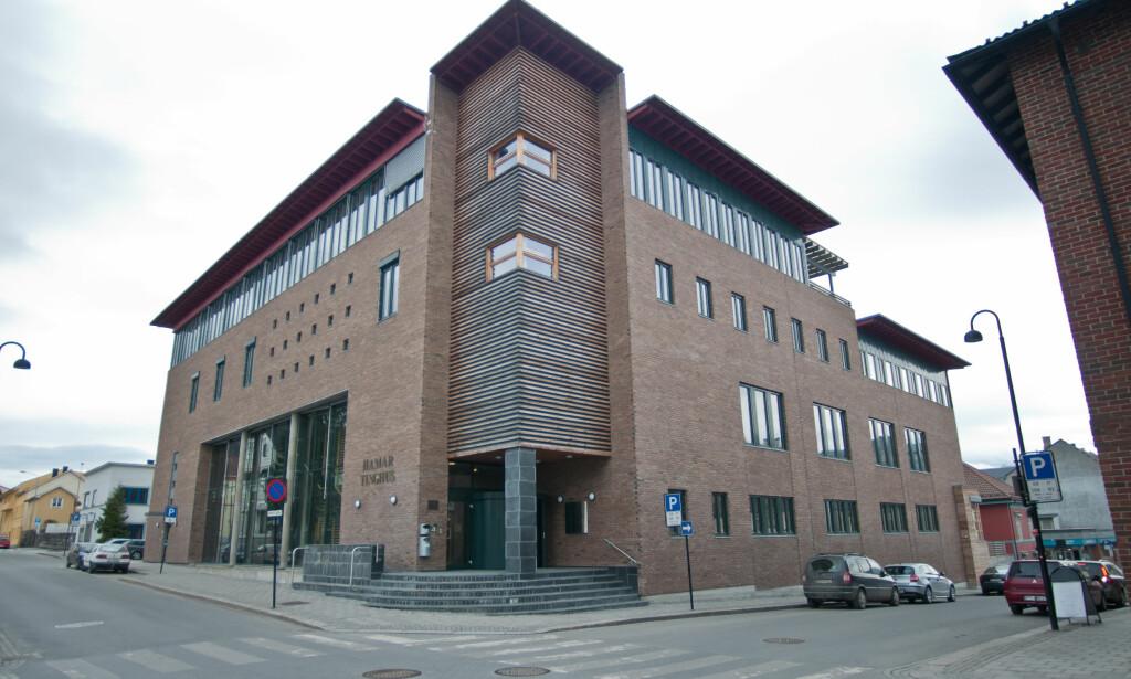 RETTSSAKEN UTSATT: Rettssaken mot terapeuten skulle foregå i Hedmarken tingrett 19.-21. desember - men er nå utsatt fordi den tiltalte mannen er forsvunnet. Foto: Jo Espen Brenden / NTB Scanpix