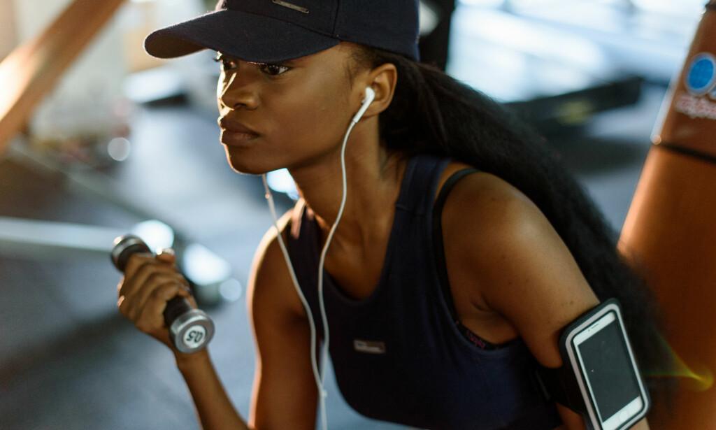 552290bf VELTRENTE ARMER: Å bli sterkere og få mer veltrente armer handler ikke bare  om å