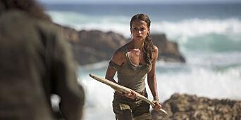 image: Første klipp av «norske» Lara Croft: - Jeg er overveldet