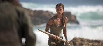 Første klipp av «norske» Lara Croft: - Jeg er overveldet