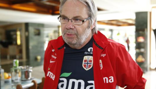 <strong>GAMLETRENEREN:</strong> Jarl Torske var assistent under Per-Mathias Høgmo på herrelandslaget. Han har vært innom en rekke aldersbestemte landslag også. Han er som Guro Reiten fra Sunndalen. Foto: Terje Pedersen / NTB scanpix