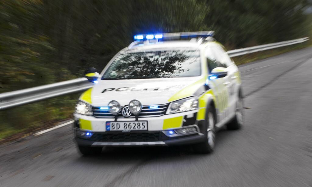 TO TIL LEGEVAKT: To personer er sendt til legevakt etter knvitstikking i Oslo søndag kveld. Foto: Gorm Kallestad / NTB scanpix