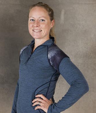 <strong>SERTIFISERT MAMMAMAGETRENER:</strong> Personlig trener Helene Høimyr har jobbet med mange kvinner som ønsker å trene magen etter graviditeten. Foto: Privat