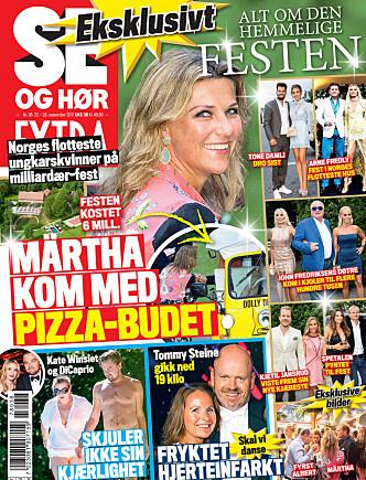 I SALG NÅ: I nyeste nummer av Se og Hør kan du lese mer om Petter Pilgaard og Vendela Kirsebom. Faksimile: Se og Hør Extra.