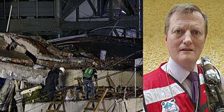 image: Nils Erik løftet lik ut av jordskjelv-ruinene på skole i Mexico. - Etasjer var bretta sammen som en sandwich