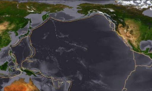 image: Her oppstår 90 prosent av alle jordskjelv