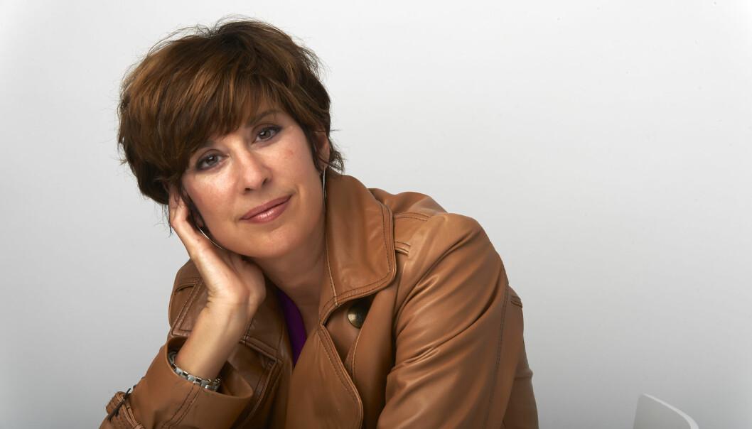 CECILIA SAMARTIN: Norgesvennen Cecilia Samartins siste roman handler om trafficking. Selv har hun brukt av egne erfaringer både som terapeut og som offer for en voldelig kjæreste. FOTO: John Andresen