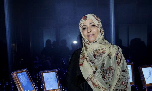 image: Fredsprisvinner Tawakkol Karman: - Vesten bryr seg ikke om at verden kollapser