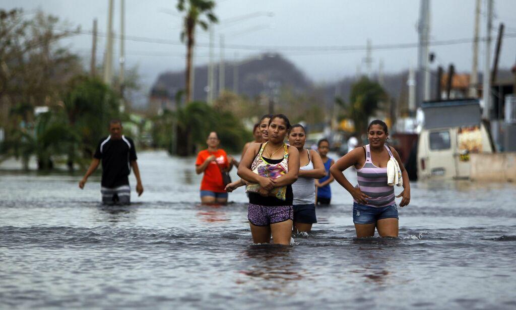 image: Demning i ferd med å briste i Puerto Rico. To byer evakuert