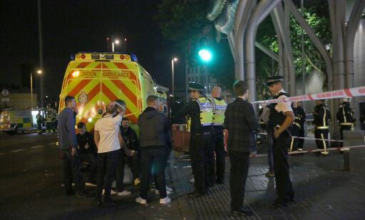 image: - Seks personer skadd i syreangrep på T-banestasjon i London