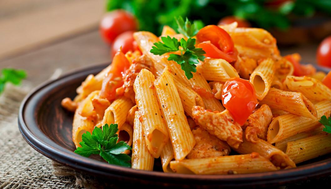 RESTEMAT: Vær forsiktig med hvordan du oppbevarer pasta- og risrestene. FOTO: NTB Scanpix