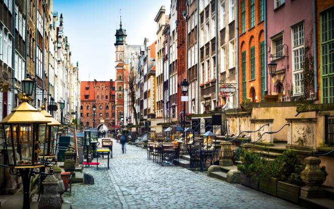<strong>SKJULT PERLE:</strong> For mange er Gdansk en mindre kjent destinasjon som skjuler både vakker arkitektur, god mat og bra spa. Foto: NTB Scanpix