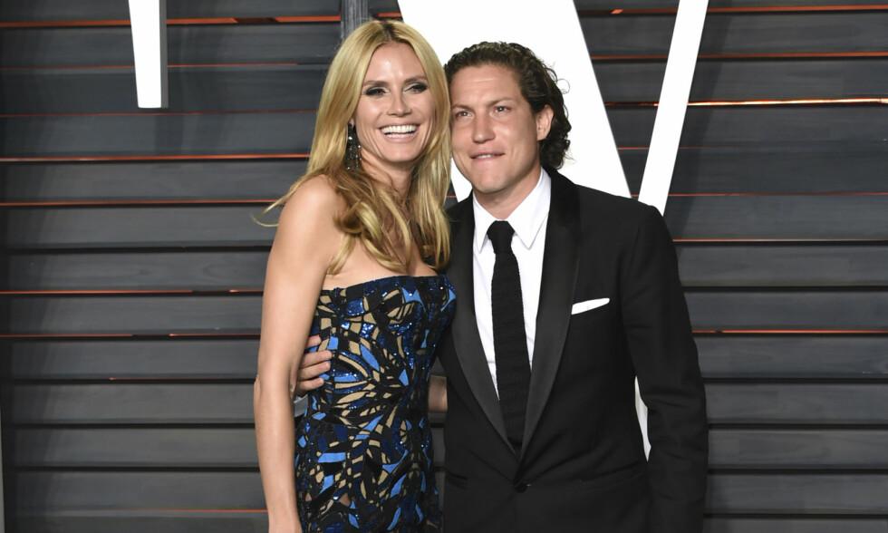 SLUTT: Her er paret sammen under fjorårets Vanity Fair fest etter Oscar-utdelingen i Los Angeles. Foto: NTB Scanpix.