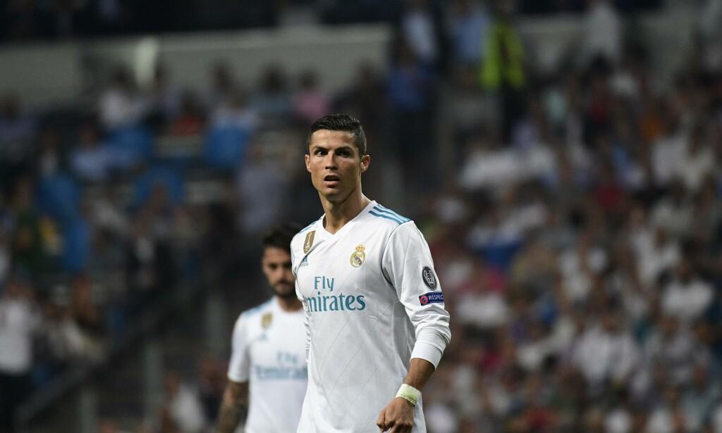 GIR STØTTE: Cristiano Ronaldo viser støtte til jordskjelvofre på sosiale medier. Foto: AFP PHOTO / PIERRE-PHILIPPE MARCOU