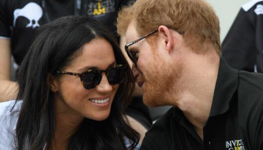 Prins Harry er i slekt med kjæresten