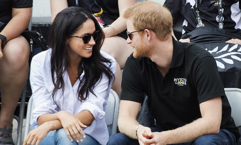 FORLOVET: Prins Harry og Meghan Markle er forlovet. Foto: NTB scanpix