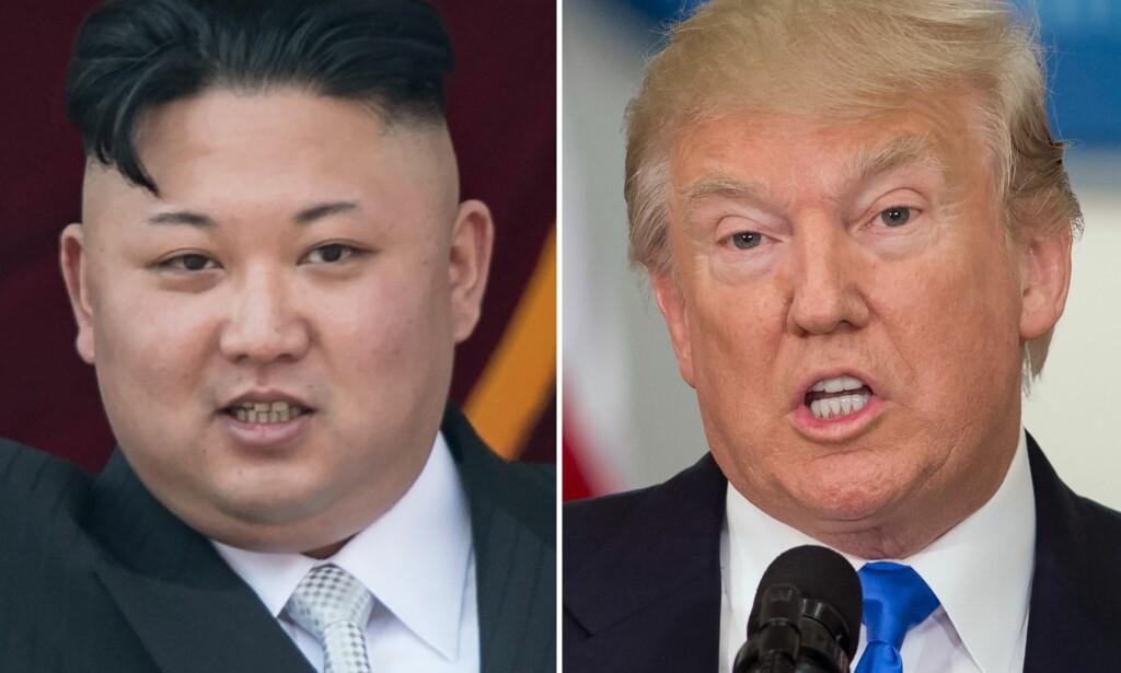 ORDKRIG: USA og Nord-Korea har det siste året konkurrert om å komme med de hardeste utspillene i en stadig hissigere replikkveksling om atomvåpen. Det kan få følger i Asia. Foto: AFP / NTB scanpix