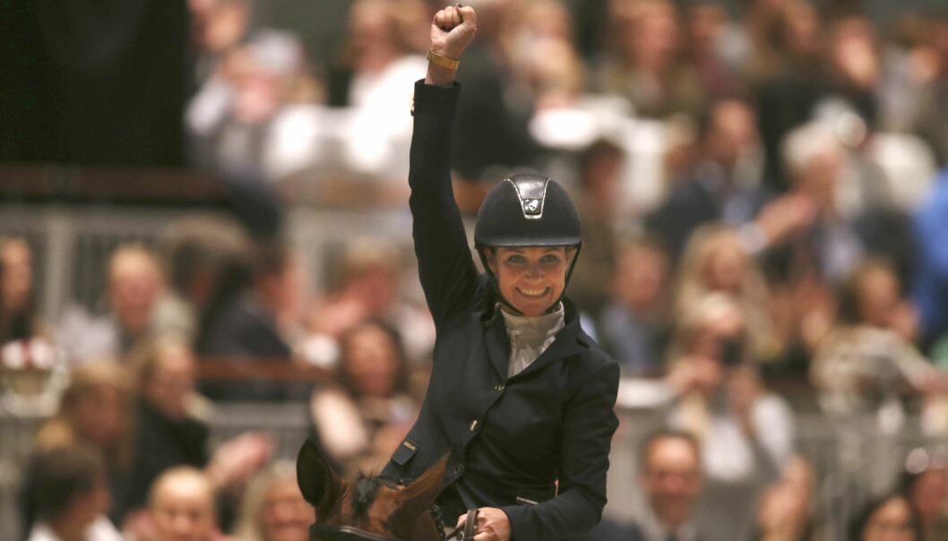 <strong>COMEBACK:</strong> Prinsesse Märtha Louise på Oslo Horse Show på Telenor Arena i 2016, da hun deltok i en show-klasse. Også i år vil Foto: Vidar Ruud / NTB scanpix
