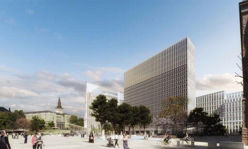 image: Regjeringskvartalet blir 15 000 kvadratmeter mindre enn først planlagt