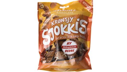 KRØNSJ: Sjokoladebiter med ekstra knas. Foto: Jørn Moen / Dagbladet