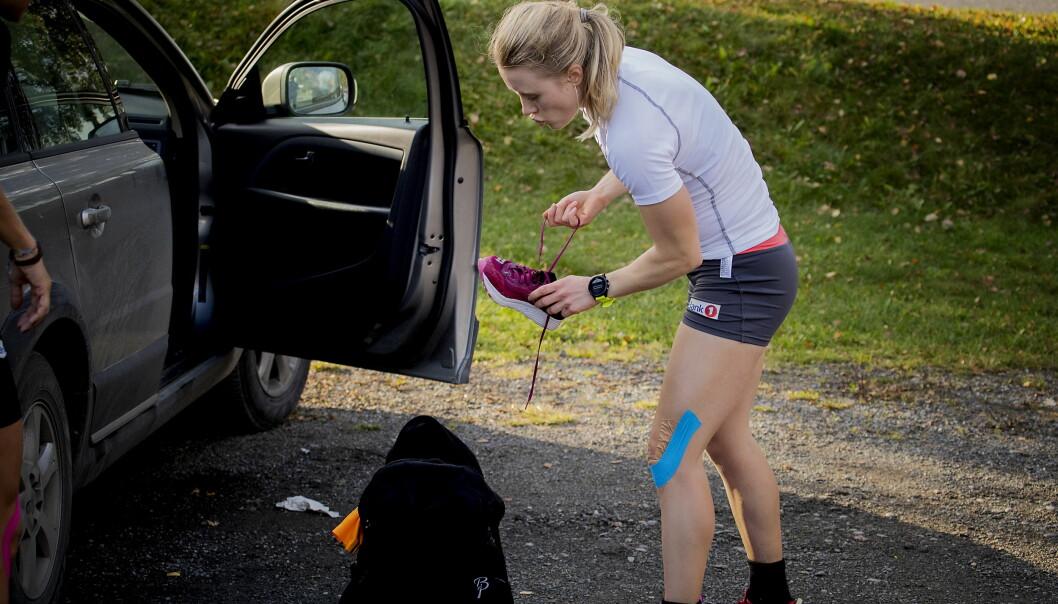 <strong>IKKE MER RESERVE:</strong> Ragnhild Haga er fast bestemt på å det steget fra reserve og inn på flere øvelser under OL i Pyeongchang i februar. Foto: Bjørn Langsem / Dagbladet