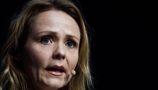 <strong>GIR INNSYN:</strong> Kulturminister Linda Hofstad Helleland (H).