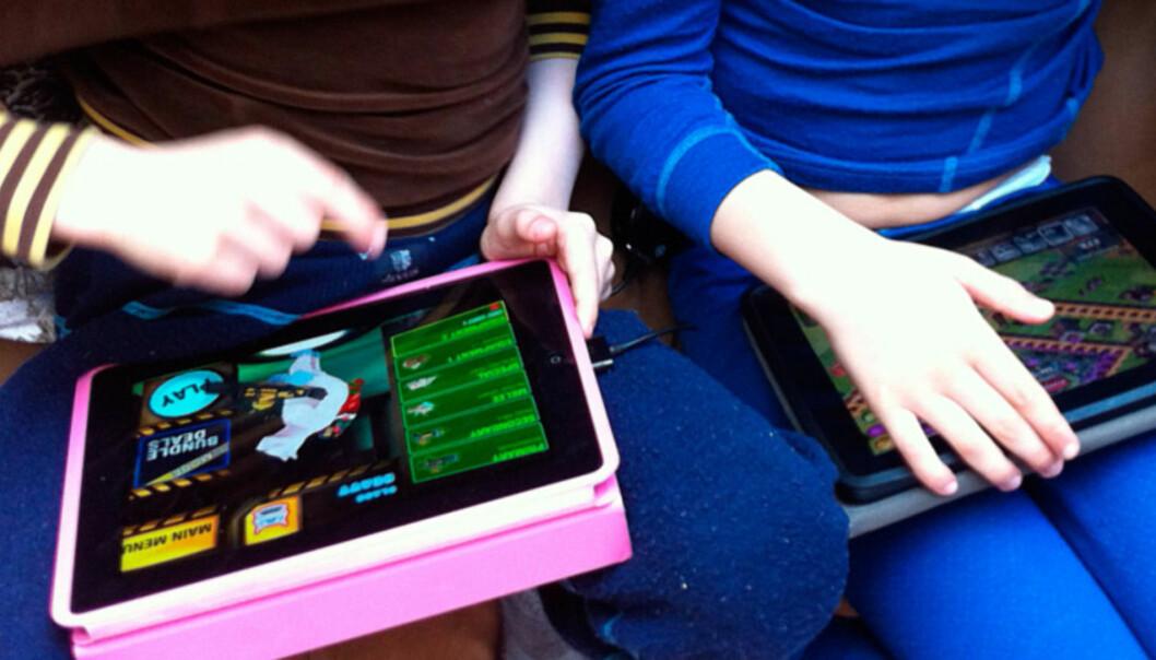 Se hva digitale leker og apper vet om barnet ditt