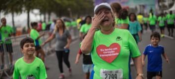 OL-tragedien som rører: Løp med død manns hjerte