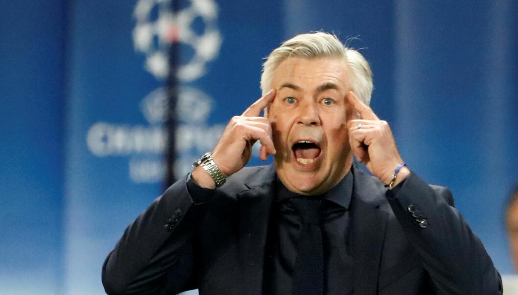 <strong>FIKK SPARKEN:</strong> Bayern München-manager Carlo Ancelotti. Foto: REUTERS/Charles Platiau/NTB Scanpix