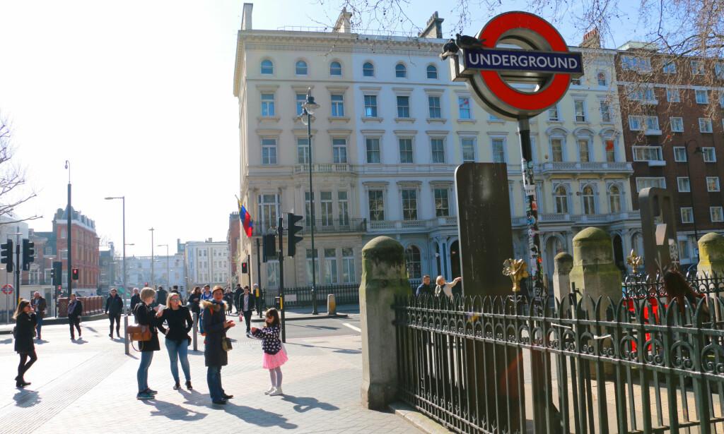 LONDON ER MEST POP I EUROPA: Bangkok er den storbyen som får aller mest tilreisende, med 19,41 millioner besøkende i 2016 - men London er en god nummer to - og aller størst i Europa - med 19,06 millioner besøkende. Det er også i London vi bruker mest av feriebudsjettet på shopping. Men hurra: Det er også en av byene hvor vi bruker aller minst på transport. Foto: Kristin Sørdal
