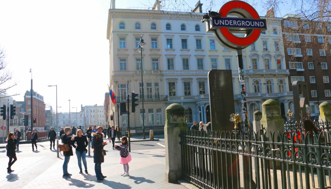 <strong>LONDON ER MEST POP I EUROPA:</strong> Bangkok er den storbyen som får aller mest tilreisende, med 19,41 millioner besøkende i 2016 - men London er en god nummer to - og aller størst i Europa - med 19,06 millioner besøkende. Det er også i London vi bruker mest av feriebudsjettet på shopping. Men hurra: Det er også en av byene hvor vi bruker aller minst på transport. Foto: Kristin Sørdal