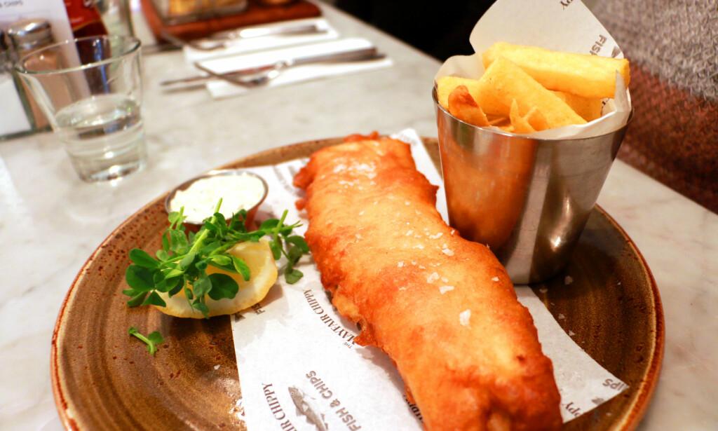 MAT MÅ MAN HA: Vi bruker mye på shopping i London, men du må jo også spise, så hvorfor ikke teste ut en av de beste restaurantene ved Oxford Street? Foto: Hanna Sikkeland