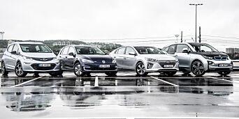 image: Så langt kan du kjøre med disse elbilfavorittene