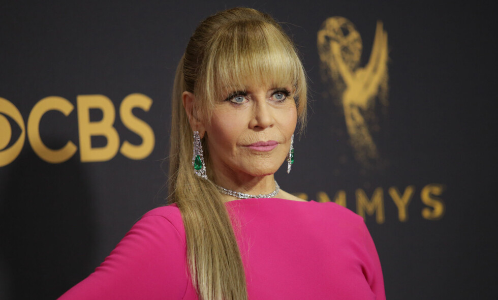 SNAKKER UT: Jane Fonda har vært åpen om at hun flere gangar har lagt seg under kniven. Hun har imidlertid ikke noe spesielt behov for å snakke om det, i hvert fall ikke når hun skal promotere sin egen film. Foto: NTB scanpix
