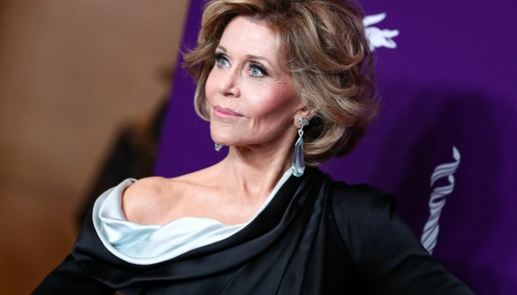 STRÅLER: Fonda har flere ganger tidligere snakket åpent om at hun har fikset på utseendet. Foto: NTB Scanpix
