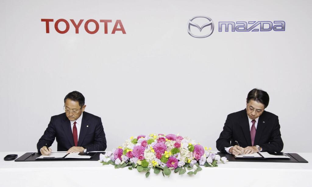 FORMELT: Avtaler på dette nivået er stort i Japan. Foto: Toyota