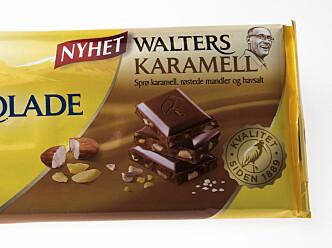 NY SMAK: Walters mandler får selskap av karamell. Foto: Jørn H Moen / Dagbladet