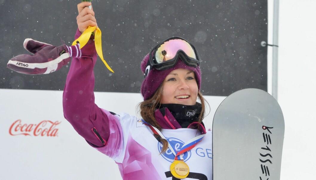 I VERDENSTOPPEN: Allerede som 17-åring vant Helene juniorverdensmesterskapet i Snowboardcross, og har som senior vunnet flere OL og X-Games medaljer. Foto: NTB Scanpix.